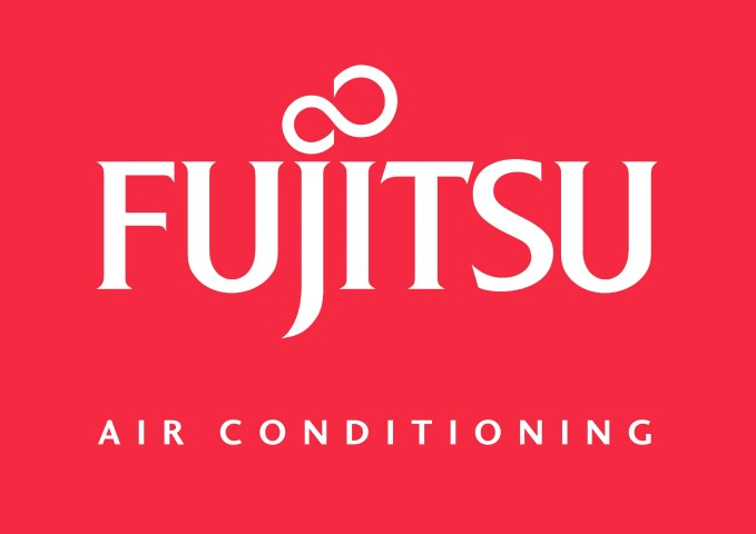 Fujitsu Air Conditioning_White on Red (Small)