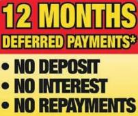 12 months deferred payments