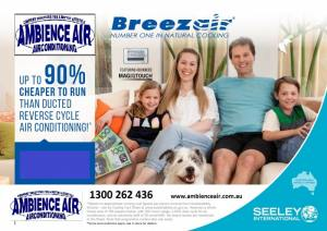 Breezeair Evaporative Cooling
