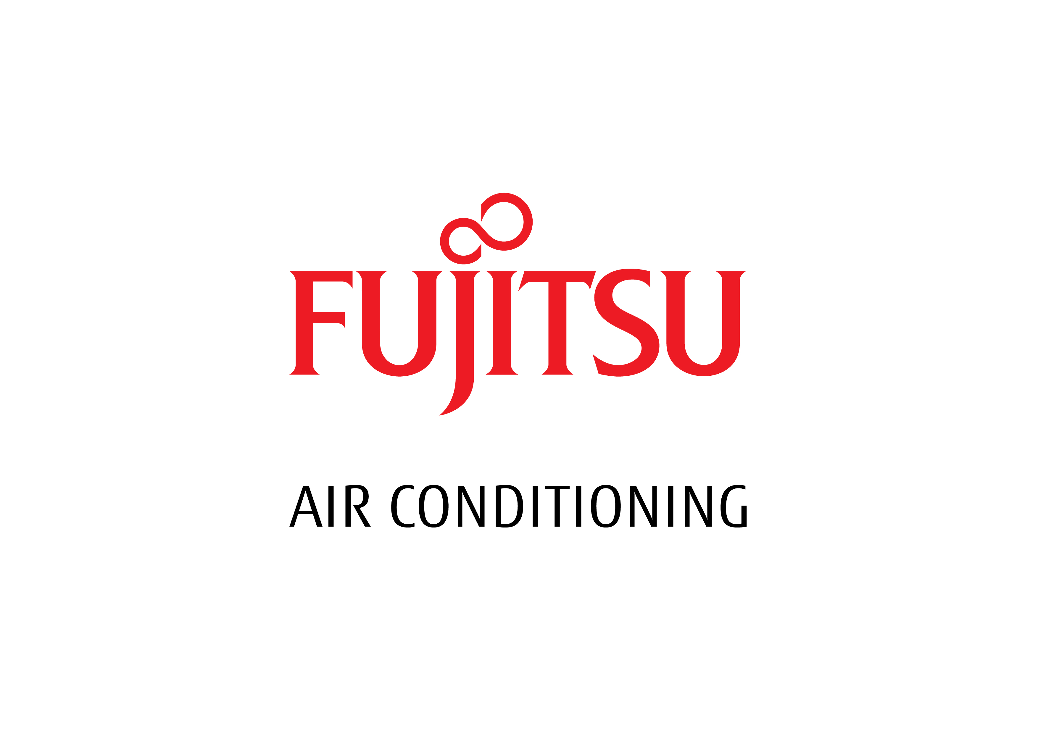2018 FUJITSU AC red and black - stacked