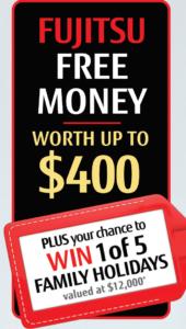 Fujitsu Free Money_2019 Flyer
