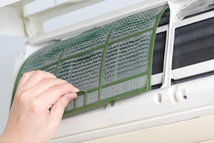Cleaning your reverse cycle air conditioner.