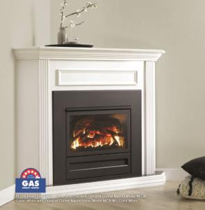 Archer Gas Log Fire_Corner Mantel option_pic