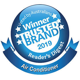 Rated 2019 top trusted aircon brand